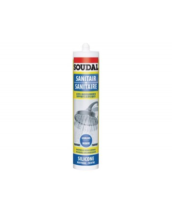 SOUDAL SILICONE SANITAIRE TRANS 290ML