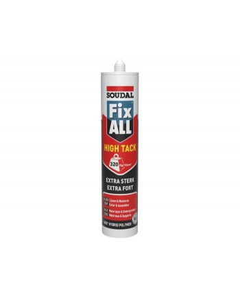 SOUDAL FIX ALL HIGH TACK CLEAR TRANSP 290ML