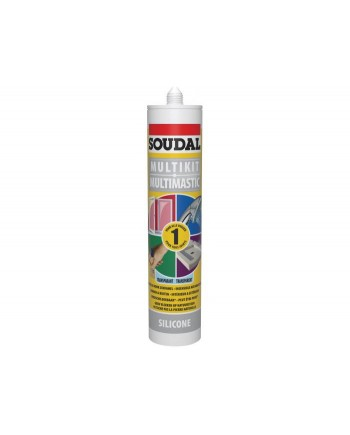SOUDAL SILICONE UNIVERSEL TANSP 290ML