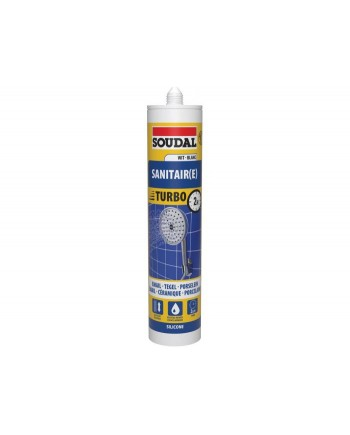 SOUDAL SILICONE SANITAIRE EXPRESS BLANC 290ML