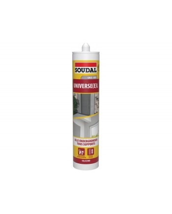 SOUDAL SILICONE UNIVERSEL GRIS 290ML