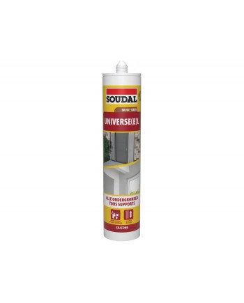 SOUDAL SILICONE UNIVERSEL BRUN 290ML